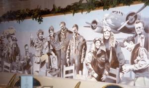 Amelia & Friends mural
