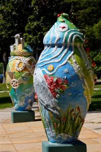 Confluence sculpture