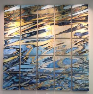 Cosumnes Reflections, each panel