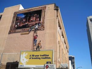 Crocker digital mural