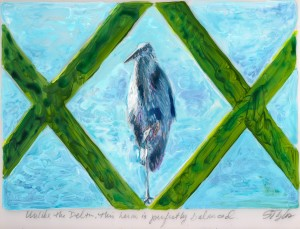 Delta heron