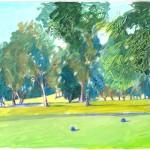 Golf course LA
