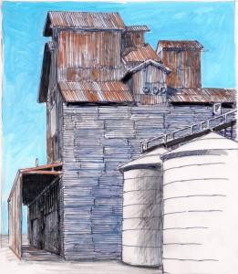Grain silo #2