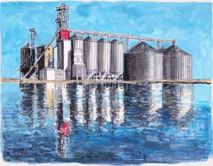 Grain silo #4