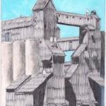 Grain silo #1