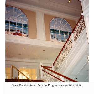 Grand staircase, 1988