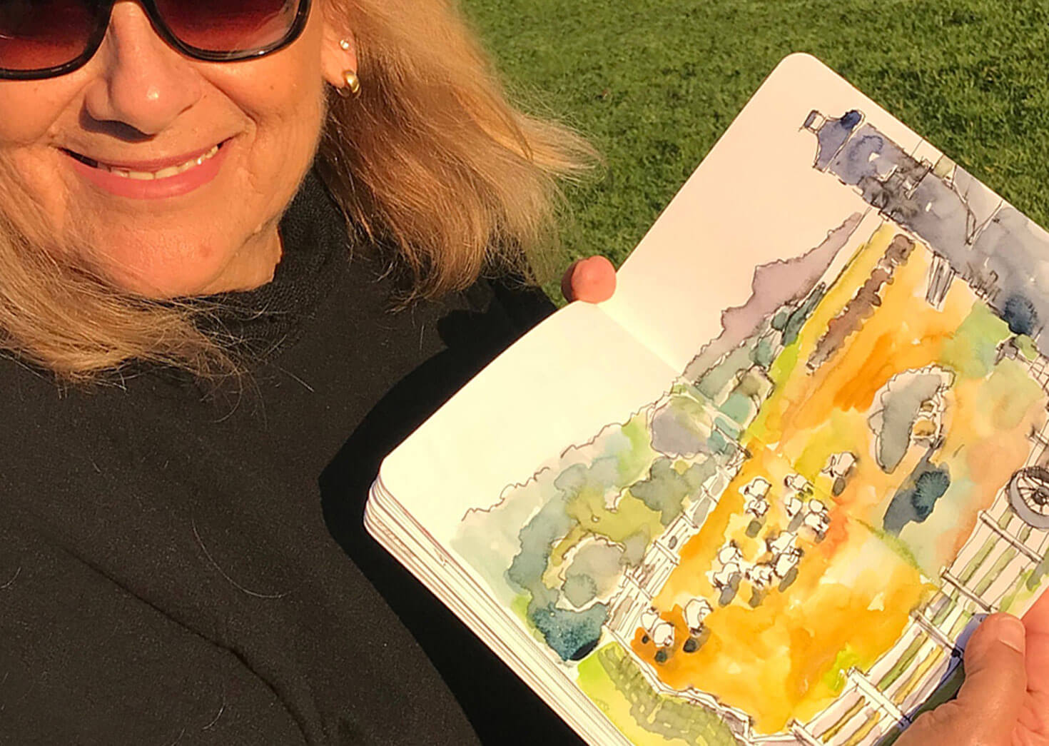 Stephanie's sketch book